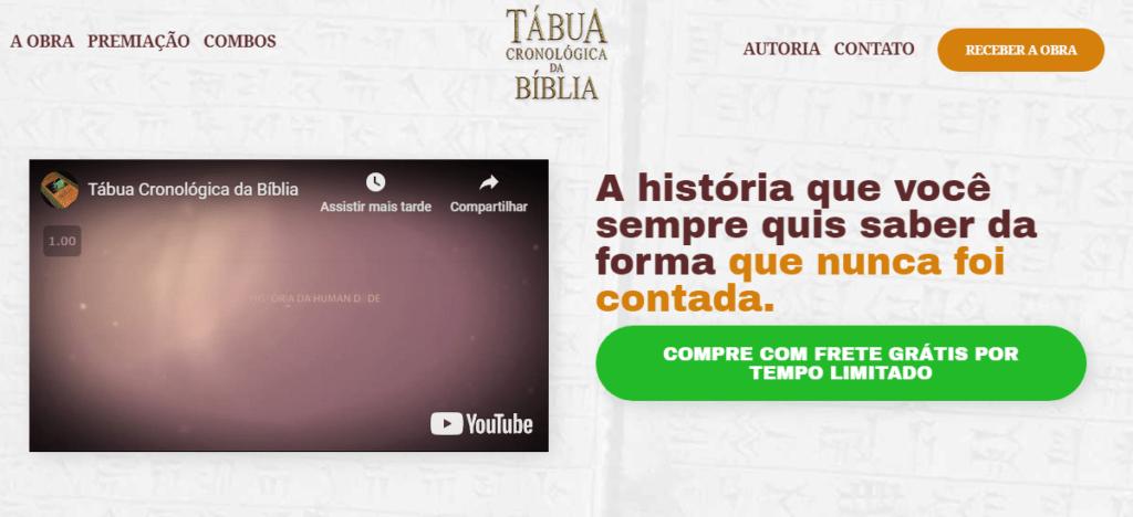 Site oficial tabua biblia