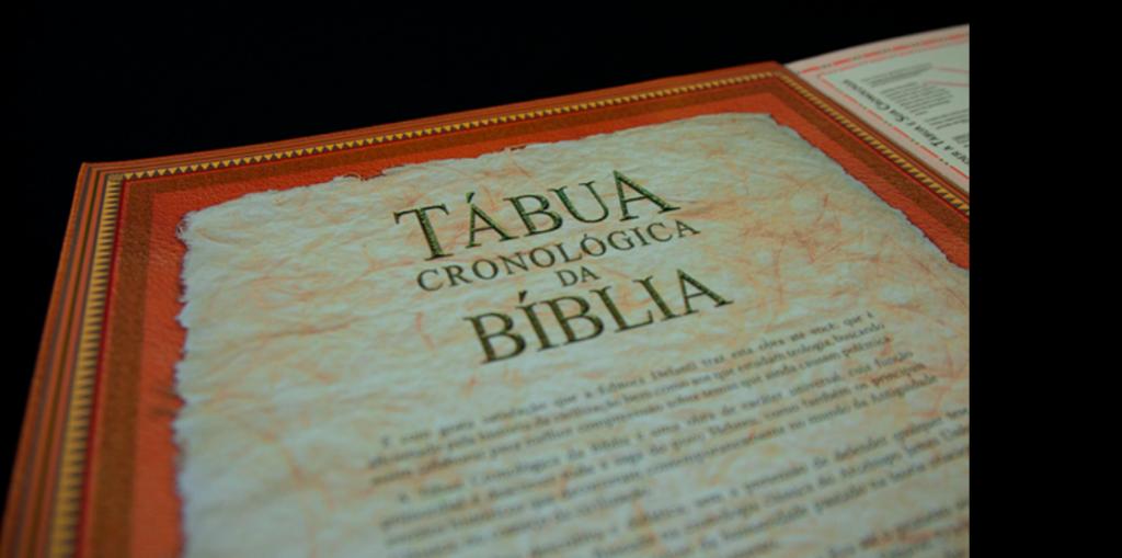 Tábua Cronológica da Bíblia por dentro