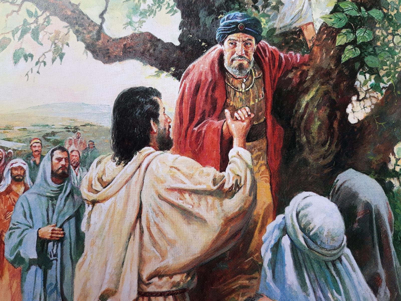 A História De Zaqueu Na Bíblia